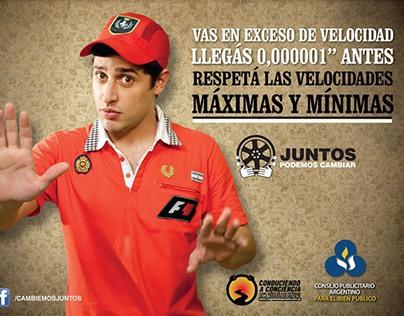 2012 – Juntos Podemos Cambiar (Seguridad Vial)