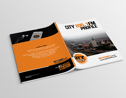 Profile Design & Layout For City105.1FM