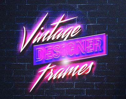 Vintage Designer Frames PART II
