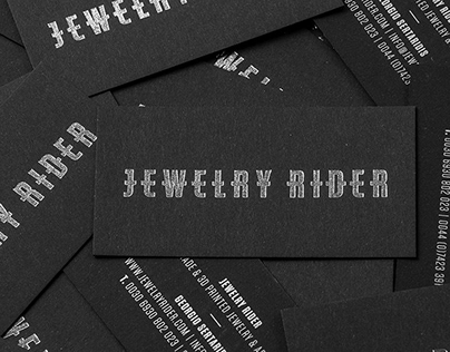 Jewelry Rider / Logotype & Print
