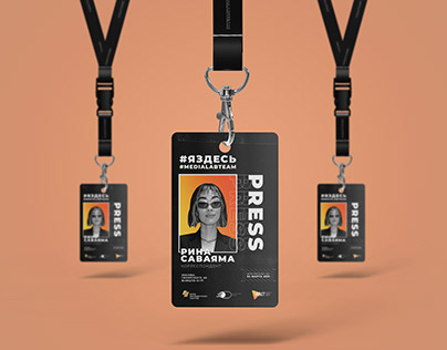 ID CARD BADGE FOR MEDIALABTEAM