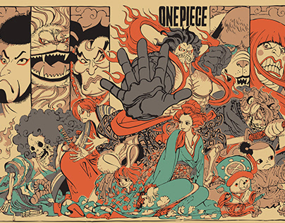 One Piece Fant Art Cover