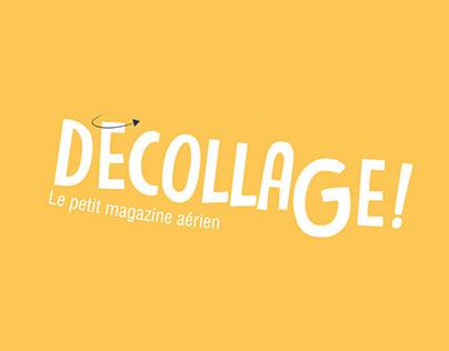 DÉCOLLAGE! - Children's flyer