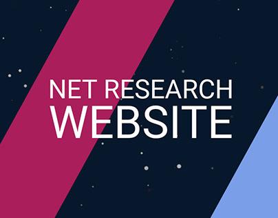 ArtFactor: Website for Net Reserach Company
