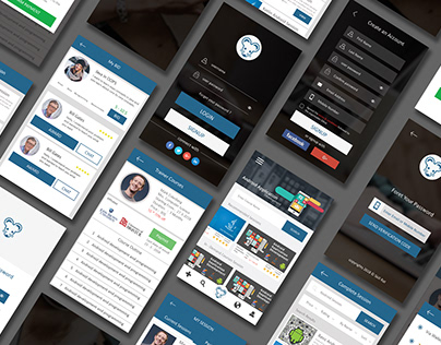 Skillrat UI/UX prototyping - Freelance