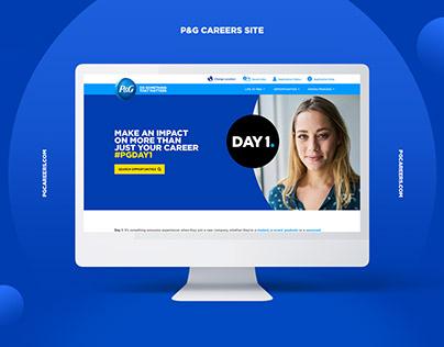 P&G Careers Site