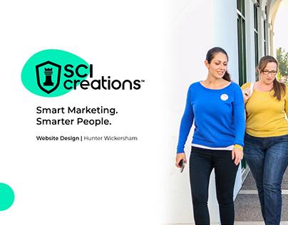 SCI Creations Website