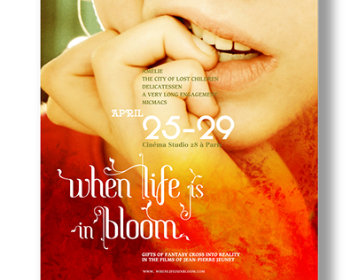 When Life Is In Bloom Film Festival