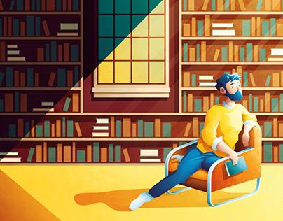 La Bibliothèque - Bookshelves