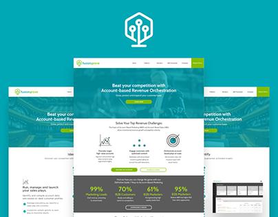 FusionGrove Website Design