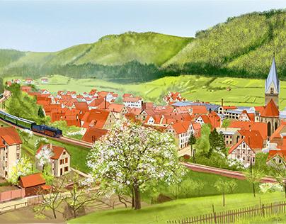 Spring at the Rosendole