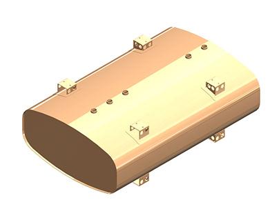 Liquid Storage & Transport Tank Model using Solidworks