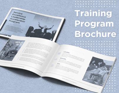 Training Program Brochure