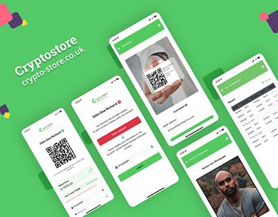Crypto Store UI Design