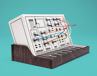Letterpressed Synthesizer