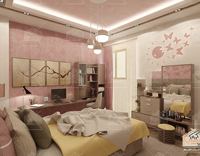 Bed Room Design _ Villa Mansoura