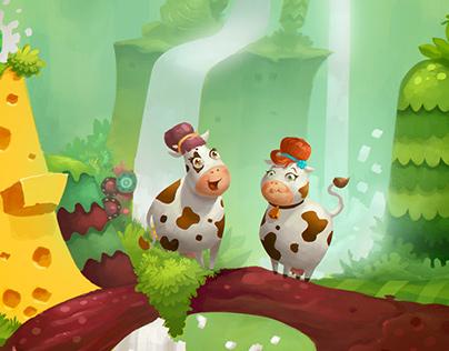 Milk TV Commercial - Visual Development