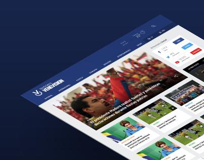 Noticiero Venevision Website