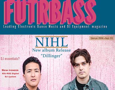 Futurebass Magazine cover
