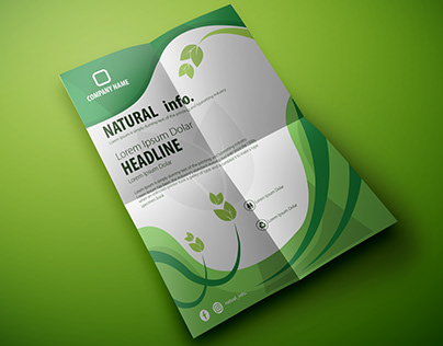 Nature Flyer Brochure