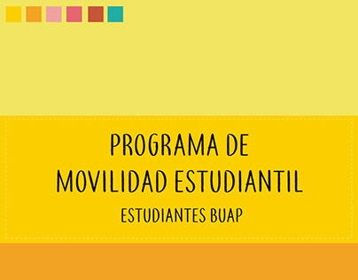 Manual ilustrativo de movilidad estudiantil DGDI - BUAP