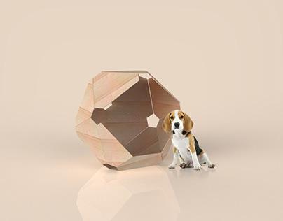 Icosahedron Dog House | Digital Manufacturing