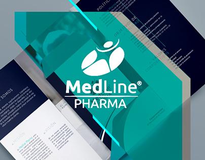 Medline Pharma - Branding Corporativo