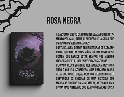 Rosa Negra - Capa Em Partes