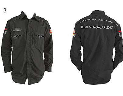 Tel'U Mengajar Uniform Design