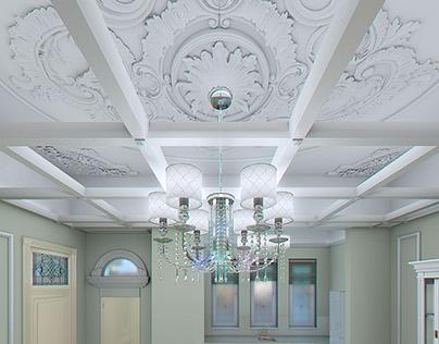 3D Renders of interior in Batumi