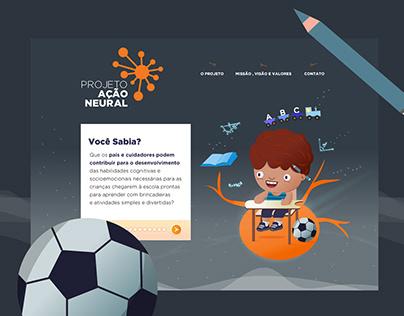Projeto Ação Neural - Landing Page