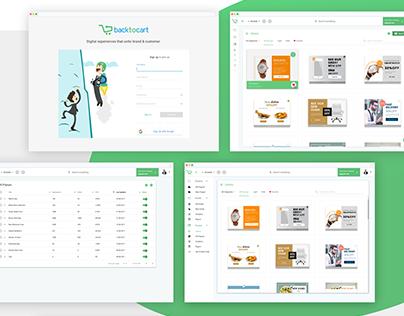 Backtocart.co / Material UI Design