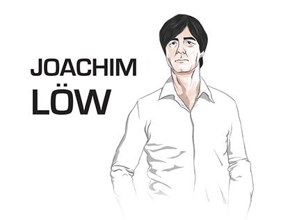 Infographic about Joachim Löw 2014