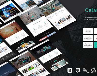 Celano - Business Multipurpose Bootstrap Html Template