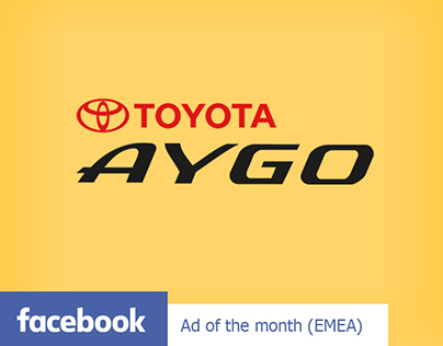 Toyota Aygo: Facebook Ad of the Month