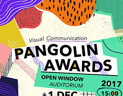 PANGOLIN AWARDS POSTER 2017