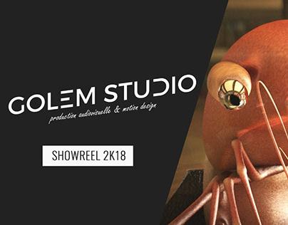 Golem Studio - Showreel 2k18