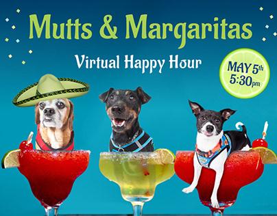 Event Graphics for Muttville Senior Dog Rescue