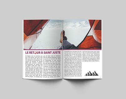 Projet maquette magazine InSitu