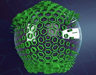 Hexes on Sphere - JA18_004