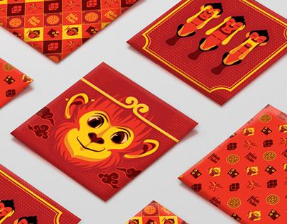 Lucky money packs 2016 - Monkey King
