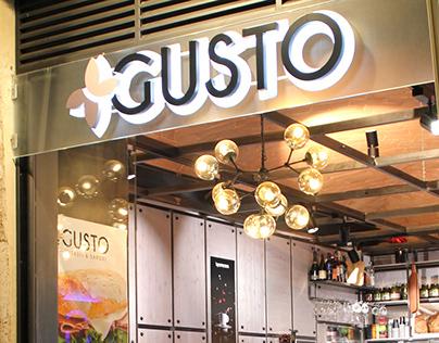 """Brand Identity """"+Gusto"""", Perugia (ITALY)"""