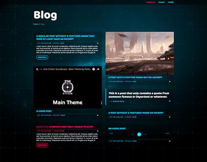 Experimental WordPress Event Theme