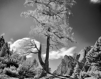 Invisible Dolomites - Infrared