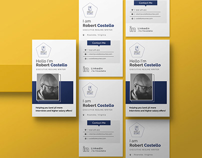 Business Card for Costello Resume