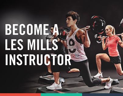 Les Mills Asia Pacific Instructor Recruitment Website