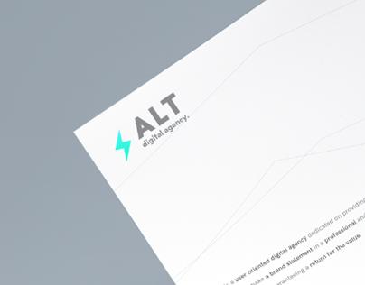 ALT // DigitalAgency Rebranding