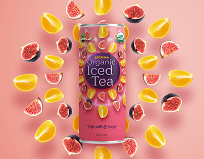 Biooma Organic Iced Tea Packaging