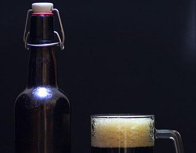 Bière brune maison