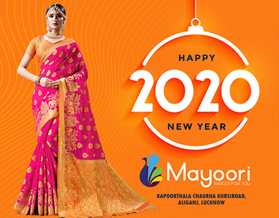 Happy New year - Be Traditional Be Stylish with Mayoori